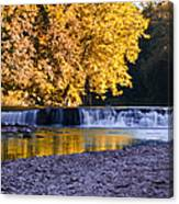 Indianhead Dam - Perkiomen Creek Canvas Print