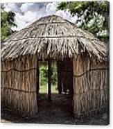Indigenous Tribe Huts In Puer Canvas Print