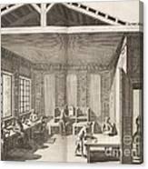 Indigo Dye Factory, 18th Century Canvas Print