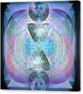 Indigoaurad Chalice Orbing Intwined Hearts Canvas Print