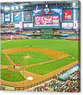 Indoors At Chase Field Canvas Print