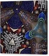 Indra's Web Canvas Print