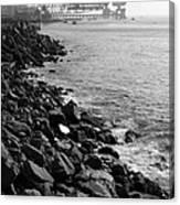 Industrial Coastline Canvas Print