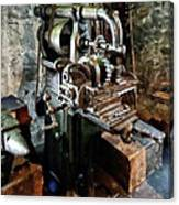Industrial Gear Cutting Machine Canvas Print