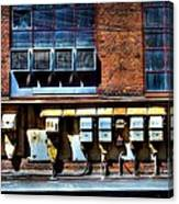 Industrial Grunge 2 Canvas Print