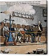 Industrial Shaving Machine 1770 Canvas Print