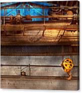 Industrial - The Gantry Crane Canvas Print
