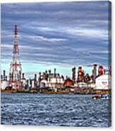 Industrial View Canvas Print