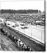 Indy 500 Auto Race Canvas Print