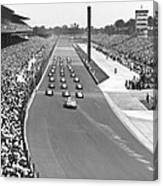Indy 500 Parade Lap Canvas Print