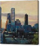 Indy City Scape Canvas Print