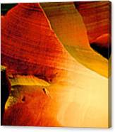 Inferno In Lower Antelope Canyon-az Canvas Print