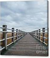 Infinite Boardwalk Canvas Print