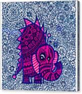 Infinite Pachyderm  Canvas Print