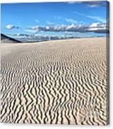 Infinite Sand Patterns Canvas Print