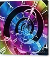Infinite Time Rainbow 1 Canvas Print
