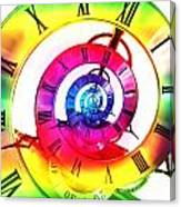 Infinite Time Rainbow 3 Canvas Print