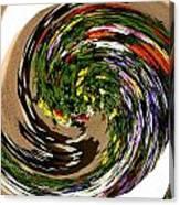 Infinity Flower Spiral 1 Canvas Print