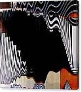 Infinity Kiss Horizontal 2 Canvas Print