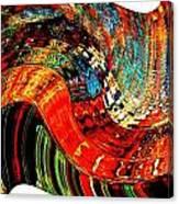 Infinity Sound Wave 2 Canvas Print