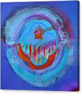 Inflame Skyline Canvas Print