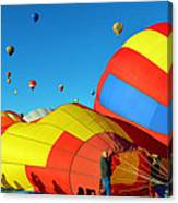 Inflating Canvas Print