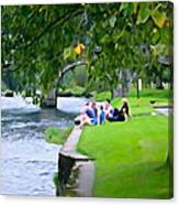 Inistioge Friends Canvas Print