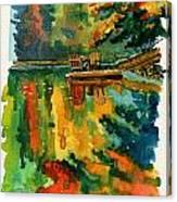 Inktober 21 Color Field Canvas Print
