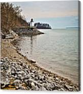 Inlet Lighthouse 3 Canvas Print