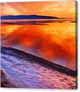 Inlet Sunset Canvas Print