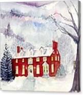 Inn At Spruce Creek Canvas Print