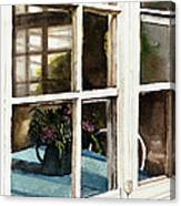 Inn Window Canvas Print