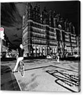 Inner City Cycling  Canvas Print