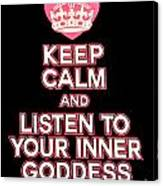 Inner Goddess Canvas Print