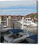 Inner Harbor - Naples Canvas Print
