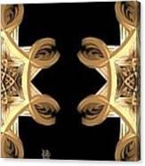 Inner Response - Stereogram Canvas Print