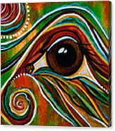 Inner Strength Spirit Eye Canvas Print