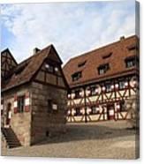 Inneryard Kaiserburg - Nuremberg Canvas Print