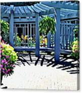 Inniswood Garden Structure Canvas Print
