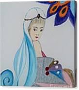 Innocent Girl Canvas Print