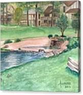 Innsbrook Hole 9 Canvas Print