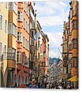 Innsbruck Color Canvas Print