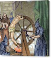 Inquisition Instrument Of Torture Canvas Print