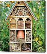 Insect Hotel Canvas Print