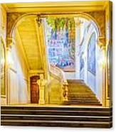 Inside Capitole De Toulouse Canvas Print