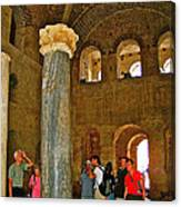 Inside Church Of Saint Nicholas In Myra-turkey Canvas Print