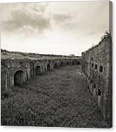 Inside Fort Macomb Canvas Print