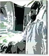 Inside Man - Outside Man Canvas Print