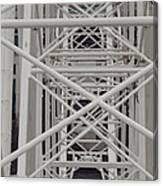 Inside Of The Ferris Wheel Canvas Print