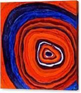Inside - Panel I Canvas Print